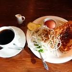 レ・ボ・プロバンス喫茶 - モーニング(全体)