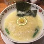 博多担々麺 とり田 - 鶏白湯麺