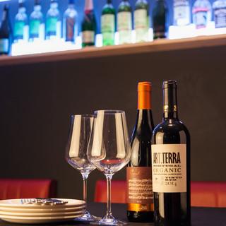 豊富なワインを多彩なスタイルで…♪