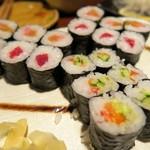 江戸や鮨八 - 海苔巻き各種