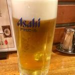 焼鳥居酒屋とりひろ - ドリンク写真:やっぱ生よね(*゚∀゚*)