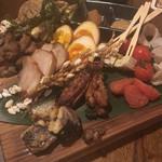 煙 燻製バル トリベーネ - 燻製盛り合わせ 1人前500円!!