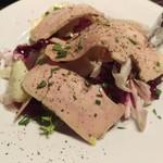 クラウド ナイン - フォアグラと洋梨のサラダ
