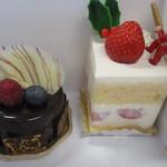 コルディアル - パラディとショートケーキ