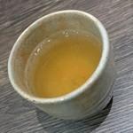 あみだそば 福の井 - 蕎麦茶♪