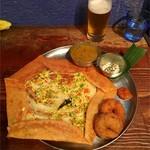 Dhaba India - ベジタブルドーサ