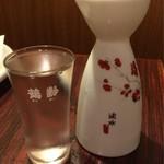 包丁や - 日本酒「横笛」(冷)(一合)