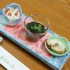 とんかつ わらしっこ - 料理写真:飲み放題付き宴会コース(4,320円)の『先付』2016年12月