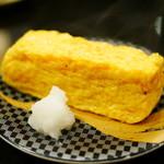 すし銚子丸 - おすし屋さんの玉子焼¥180