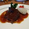 セゾニエ - 料理写真:牛ホホ肉のワイン煮 根セロリのピューレ