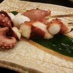 幸寿司 - 料理写真:やわらかい蛸串