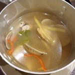 ベトナム料理クアンコム11 - アサリのレモングラス炒め