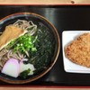 つばめ - 料理写真:かやく蕎麦(中)&チキン竜田揚げ