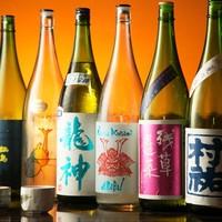 焼酎と日本酒が豊富にあります!!