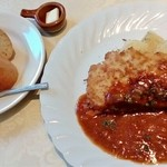 パ・ド・ドゥ - 料理写真:ポークカツレツ野菜ソース