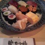 たつ福 - 上寿司 箸付き