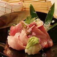 素材の味が旨い、産直鮮魚を心ゆくまでご堪能!
