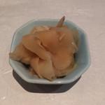本等鮨 海馬 - ガリ