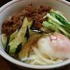 麺 銀三 - 料理写真:温玉肉味噌きしめん(温)大盛