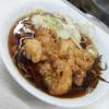 仲屋製麺所 - 料理写真:五目天・ひもかわ(540円)2016年12月
