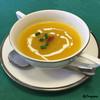 香港ダイニング - 料理写真:鱶鰭入りのカボチャスープ