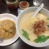 陳餃子亭 - 料理写真:豚骨台湾ラーメンと炒飯のセットは税込700円