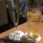 楽空 - スパークリングワインとジンジャーエール