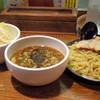 ラーメン・つけ麺笑福 - 料理写真:2016年12月 豚つけ麺大盛り野菜まし(930円)
