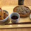 鷹山 - 料理写真:ミニ天丼セット