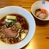 はりけんらーめん - 料理写真:京鴨そば & 限定トッピング