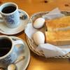 コメダ珈琲店 - 料理写真:Aモーニング=420円 ブレンドコーヒーを選択