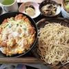 小松庵 - 料理写真:カツ丼セット(せいろ)