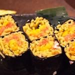 そば居酒屋るちん - 蕎麦寿司(トロタク)