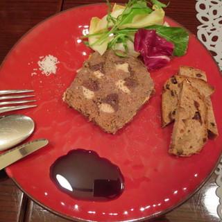 アニオン - 料理写真:朝倉産シカのテリーヌ +200円