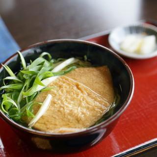 中村藤吉 - 料理写真:きつね茶蕎麦