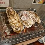 飛梅 - 焼き牡蠣盛り