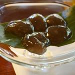 茶寮 宝泉 - わらび餅(1100円)