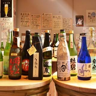 ★地の酒を楽しむ-。愛知・岐阜・三重の厳選酒と地産食材