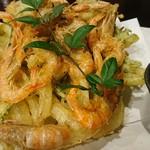 60556592 - 地海老と水菜のかき揚げ