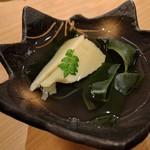 鮨 蒼井 - 料理写真:若竹煮