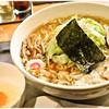 日吉 大勝軒 - 料理写真:野菜ワンタン麺+生卵 1050+50円 若干スパイシーな野菜がナイスアクセント♪