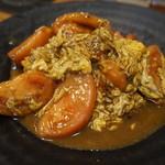 60563568 - トマトと玉子の炒め物