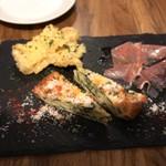 ビオ マルコ - 前菜3種盛り♬