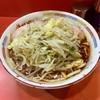 ラーメン二郎 - 料理写真:ラーメン麺半分 野菜マシ