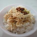 永樂担仔麺 - シンプルですが美味しーです。