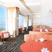 ホテルの21階から瀬戸内の海を眺めながら楽しむ本格広東料理