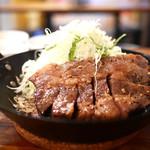 イベリコ豚おんどる焼 裏渋屋 - イベリコ豚おんどるトンテキランチ(1500円)