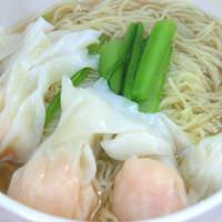 黒龍天神樓 - 香港式雲呑麺《ホンコンシキワンタンメン》