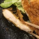 直ちゃん - チキンはムネ肉、いい食感