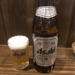 直ちゃん - 瓶ビール500円